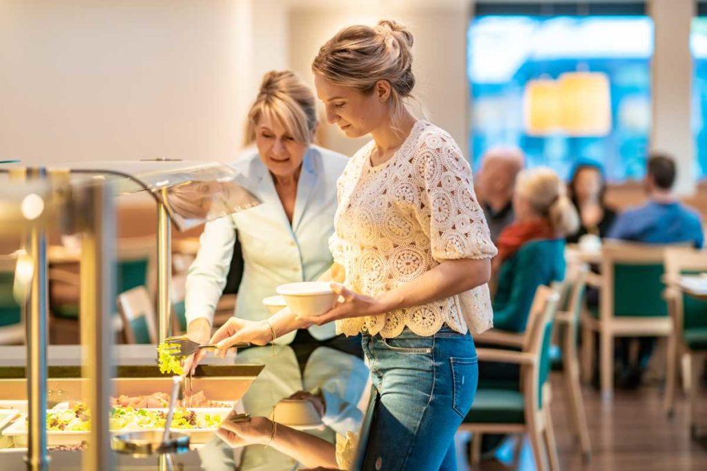 Gesundheitsvorsorge Aktiv mit ausgewogener Ernährung (Hotel-Buffet)