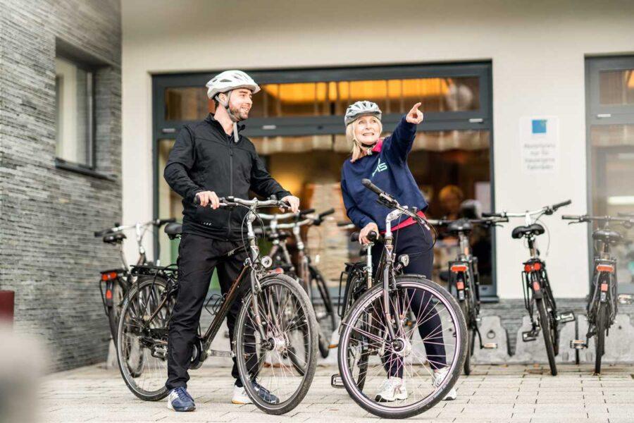 Fahrradverleih Gesundheitshotel Bad Vigaun