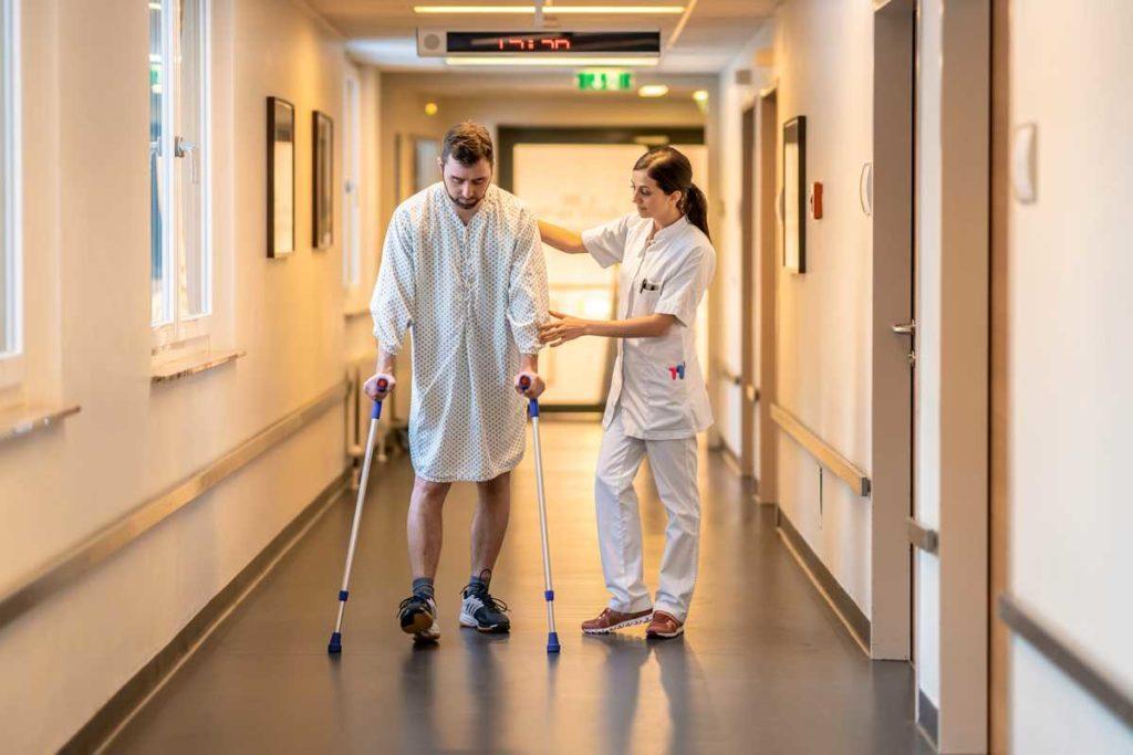Klinik für Sportverletzungen
