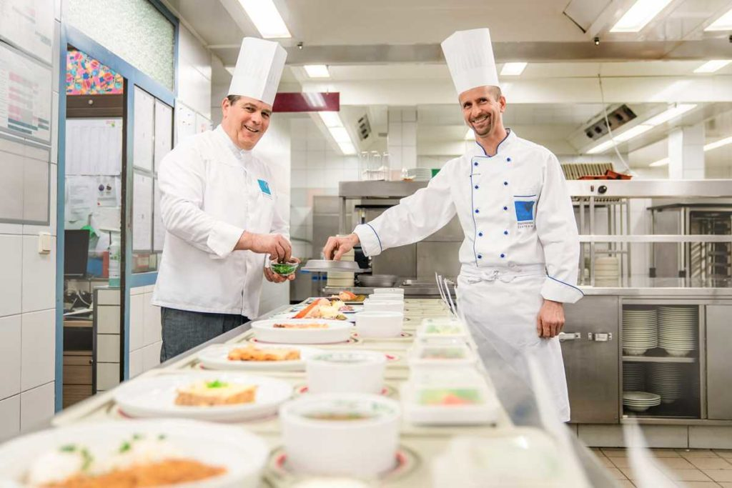 Küche im Reha-Zentrum Bad Vigaun