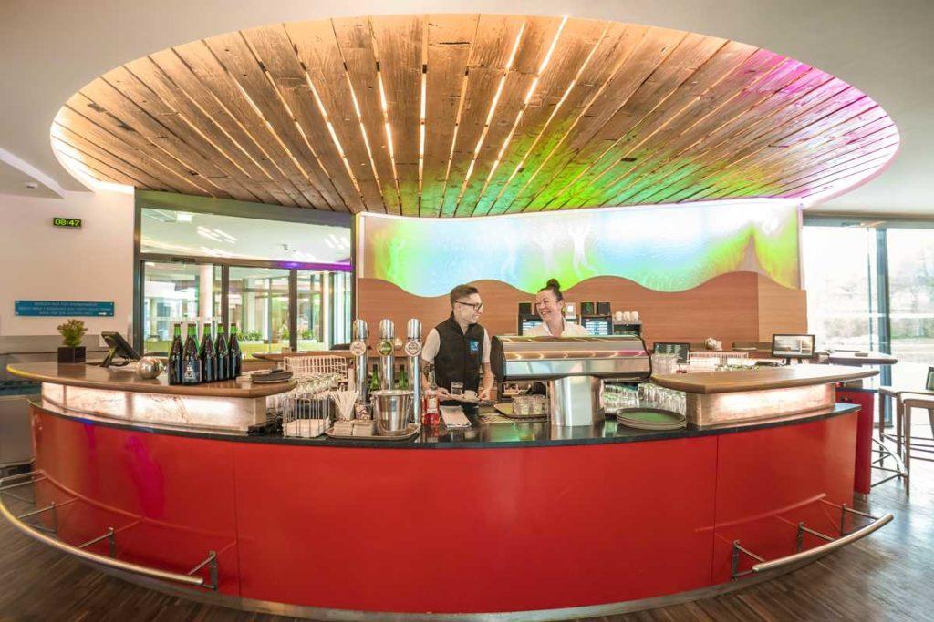 Bar im Spa-Bereich